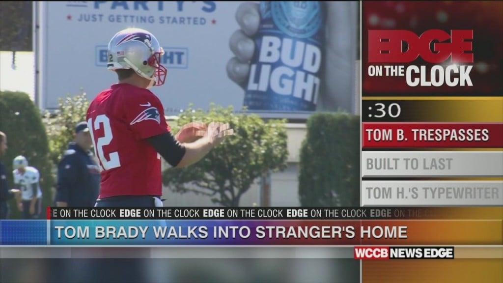 Tom Brady Trespasses