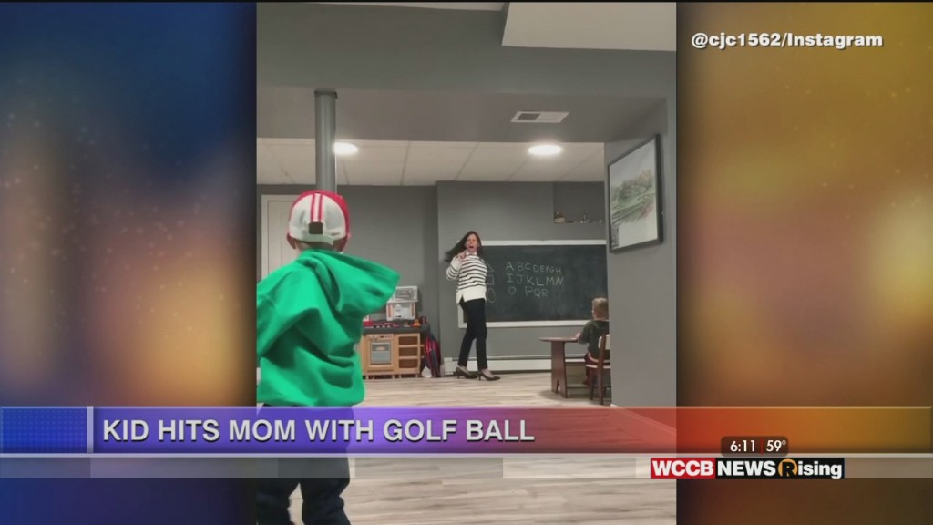 Viral Videos: Kid Hits Mom With Golf Ball & A Bulldog Has The Blues