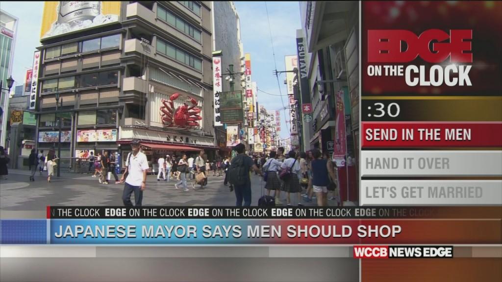 Japanese Mayor Says Men Should Do The Shopping