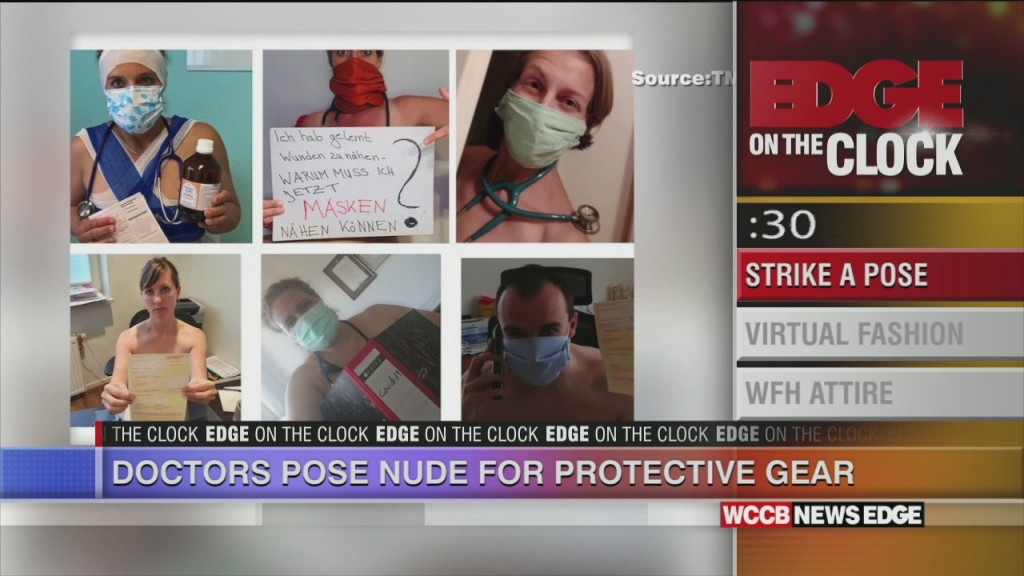 Docotrs Pose Nude For Ppe