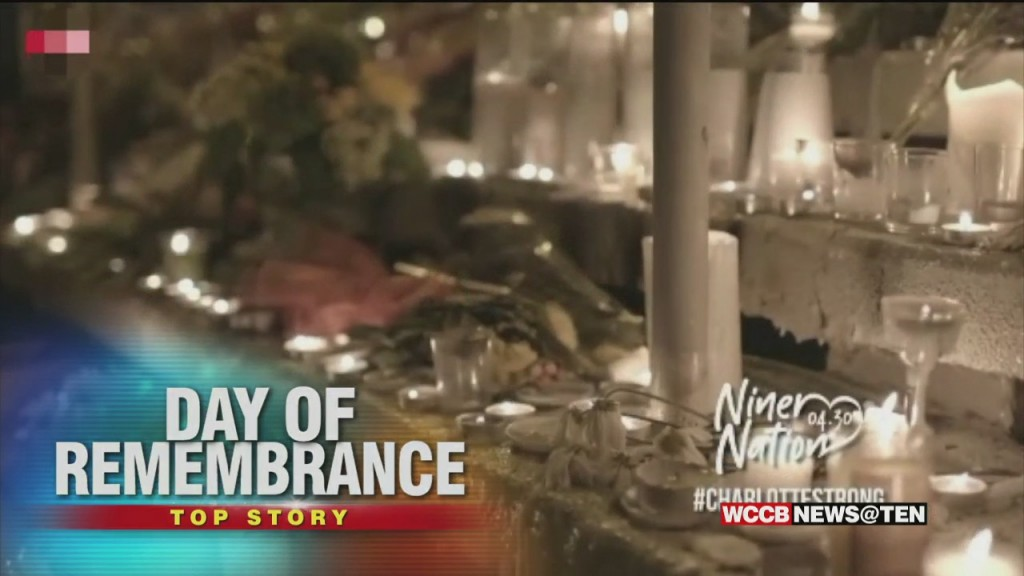 Day Of Remembrance 1 Year After Uncc Tragedy