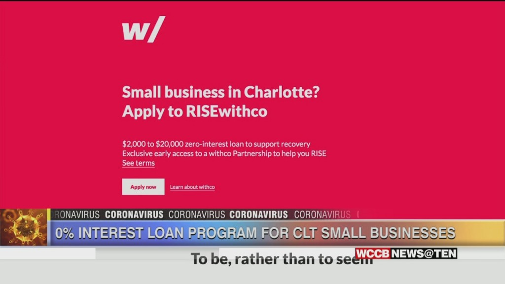 Charlotte Small Businesses Can Apply For Help