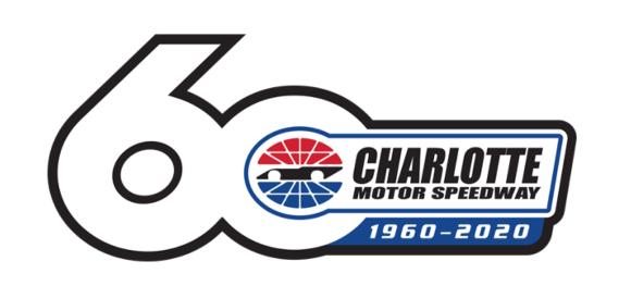 Charlotte Motor Speedway Logo 60 Years