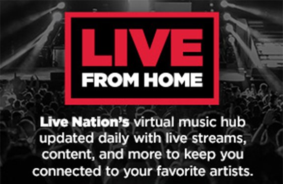 Live From Home Featured Image Live Nation