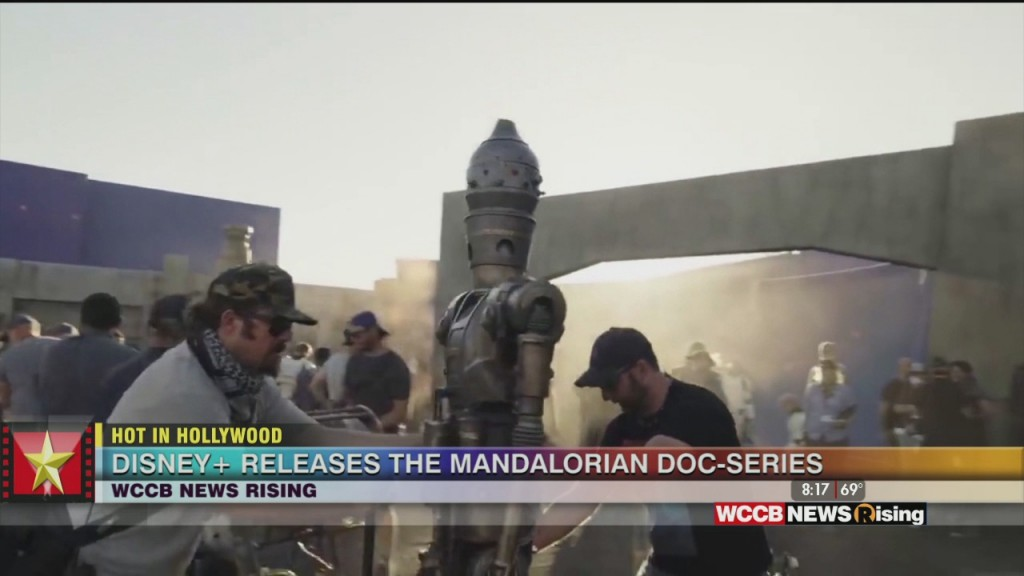 Hot In Hollywood: 'mandalorian' Docuseries Starts Today And Chris Evans Goes 'all In'