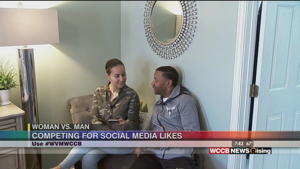 Woman Vs. Man: Competing For Social Media Likes