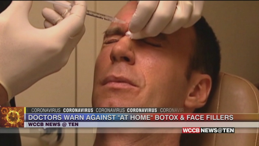 Doctors Warn Against Injecting Yourself With Botox