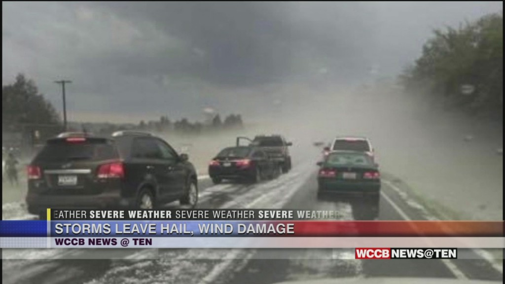 Severe Weather Latest As Heavy Storms Pound The Viewing Area