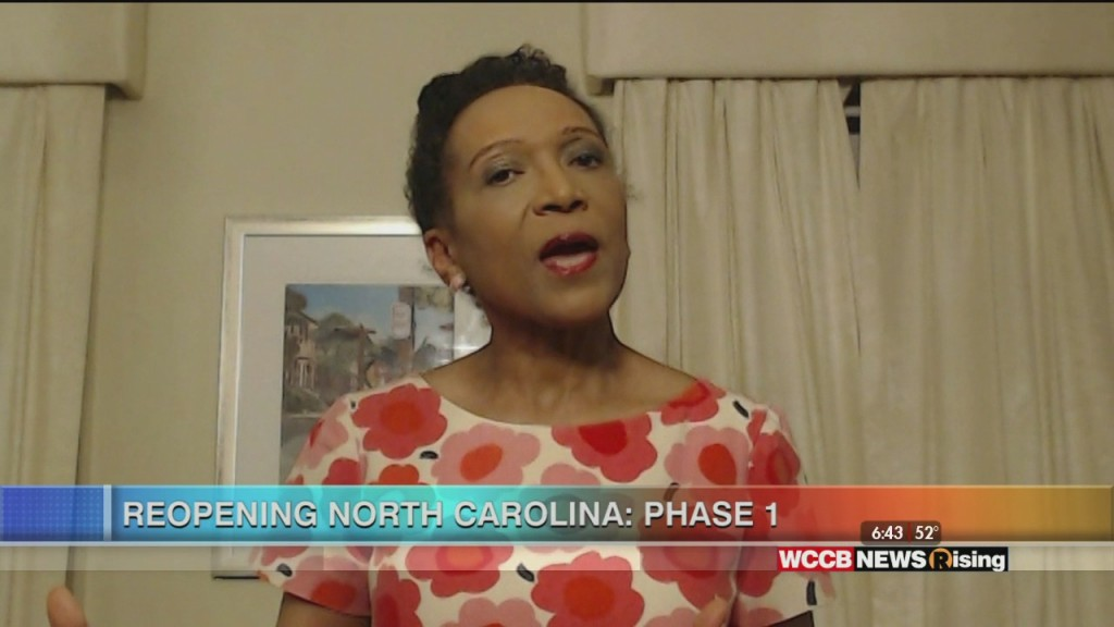 Mary C. Curtis: Phase 1 Of North Carolina's Reopening Plan