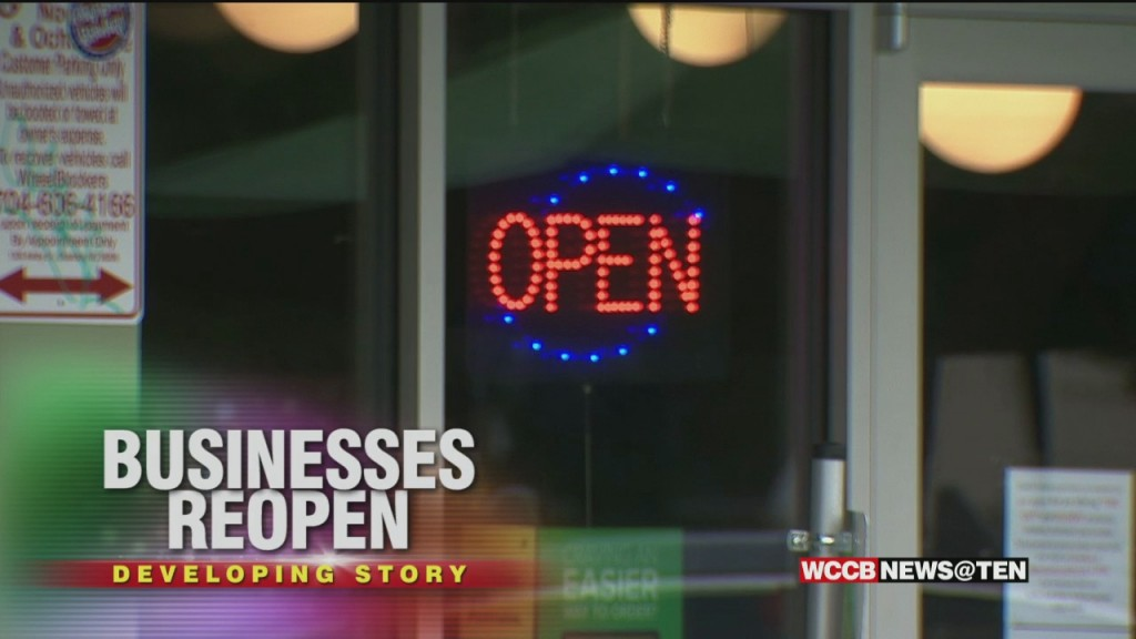 Retailers Across The Charlotte Area And The State Are Back Open As North Carolina Enters Phase One Of The Re Opening Process