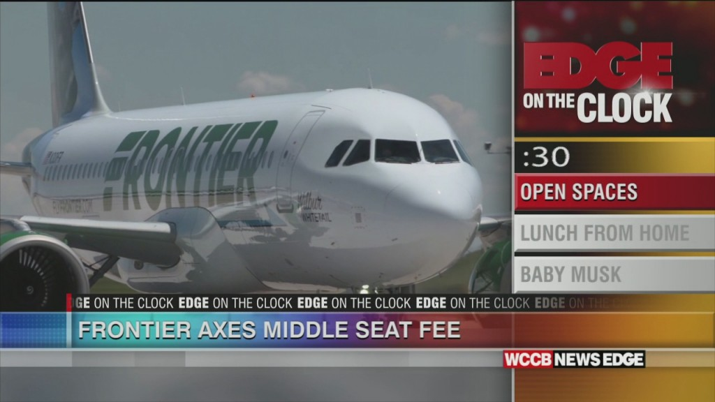 Frontier Air Eliminates Fee For Middle Seat
