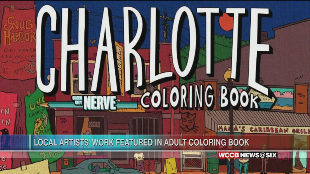 Local Artists' Work Featured In Adult Coloring Book