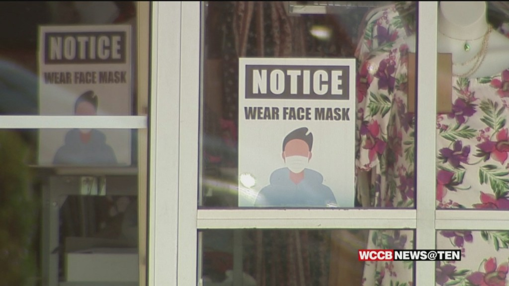 Mecklenburg County, Businesses Leaders Consider Making Face Masks Required In Stores