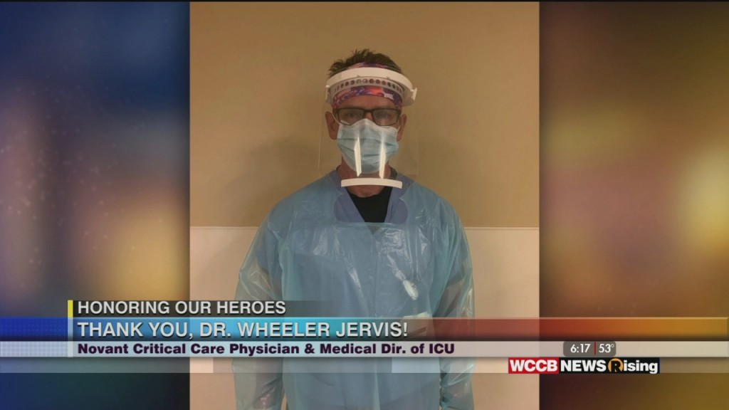 Honoring Our Heroes: Novant Health Honors Dr. Wheeler Jervis