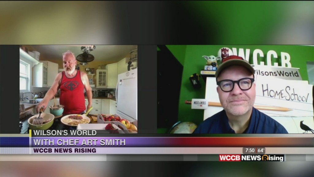 Wilson's World: Enoying A Video Visit Into The Kitcheb With Celebrity Chef Art Smith