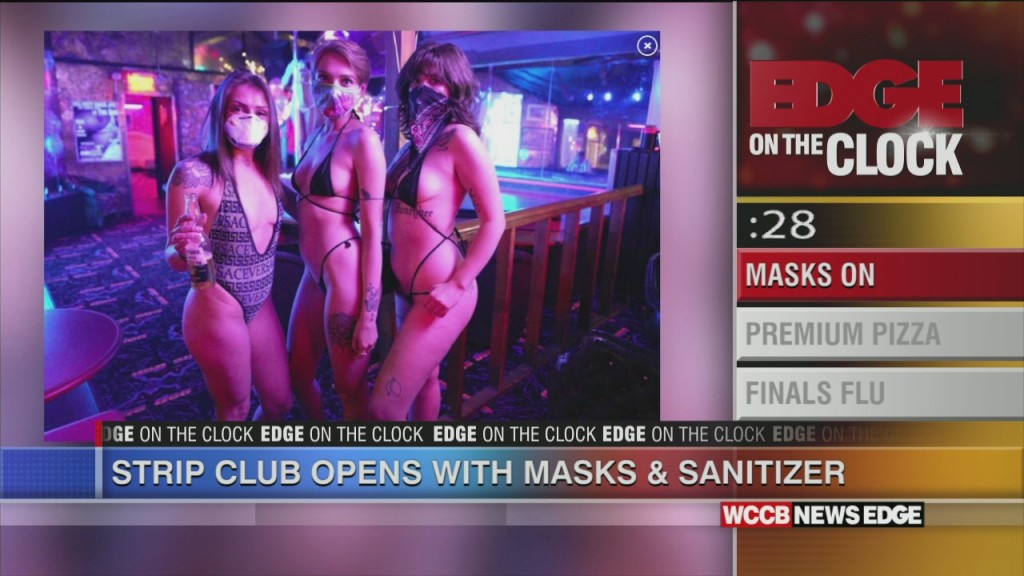 Masks On: Strip Club Opens Up
