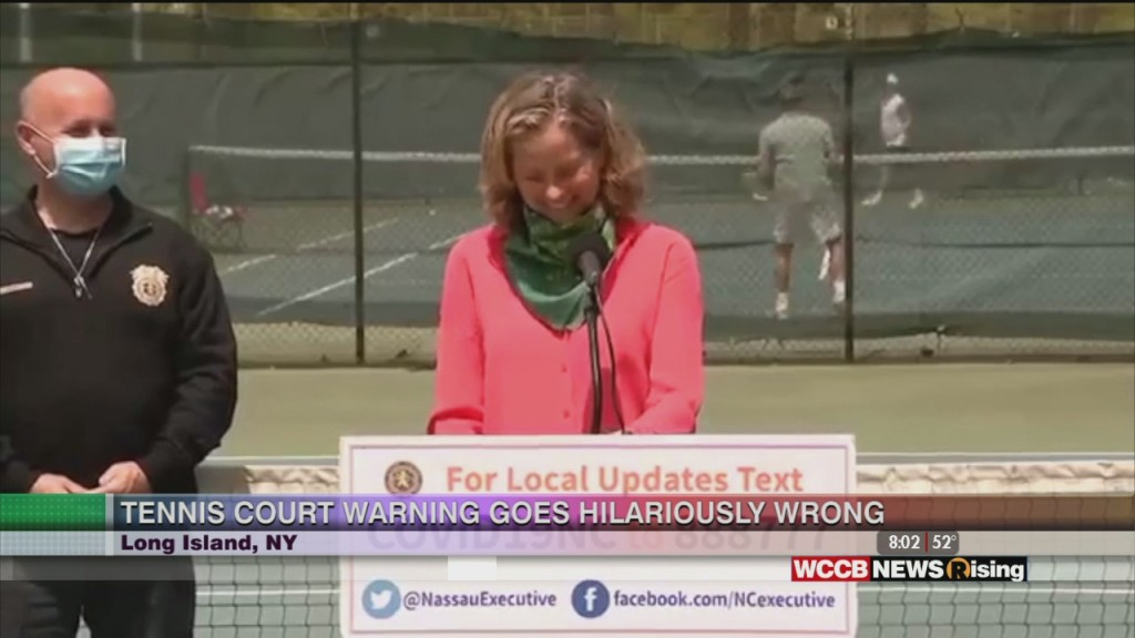 Derek And Laresa Can't Keep It Together During Tennis Court Psa