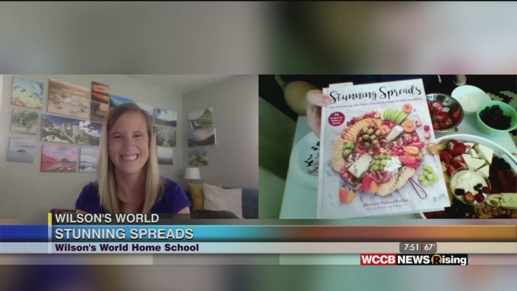 Wilson's World Home School: Speaking With Charlotte Food Writer Chrissie Nelson Rotko And Reconnecting With Olympic Gold Medalist Jamie Korab