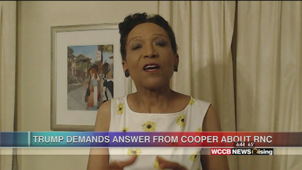 Mary C. Curtis: Pres. Trump Demands Answer From Cooper On Rnc
