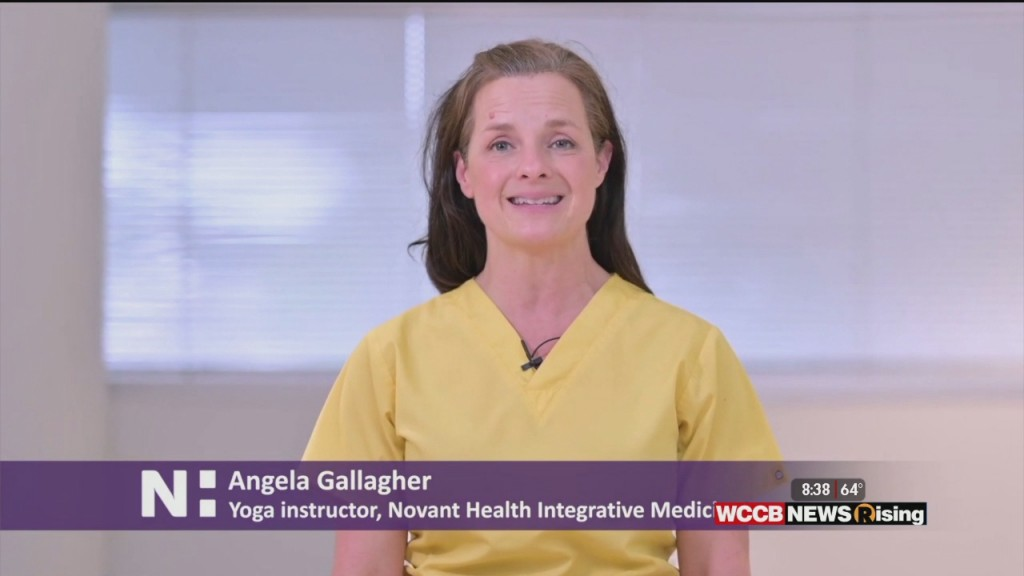 Healthy Headlines: Simple Yoga To Ease Stress During The Covid 19 Pandemic