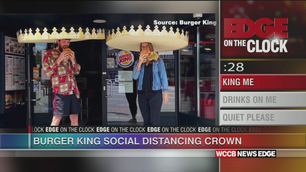 Burger King Introduces Social Distancing Crowns