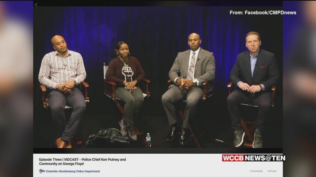 Cmpd Chief, Community Activist Discuss Police Relations