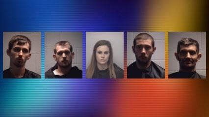 Cleveland County Arrests