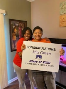 Mia Williams – Porter Ridge High School
