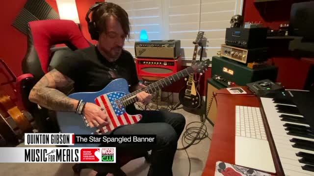"Music For Meals: Quinton Gibson ""the Star Bangled Banner"""