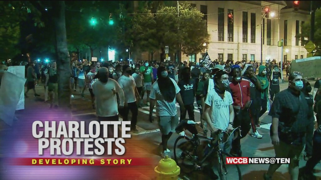Wccb News @ Ten: George Floyd Protests In Charlotte Day 3 Part 1