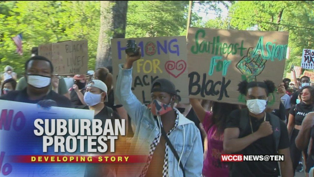 Protests Move To The Suburbs