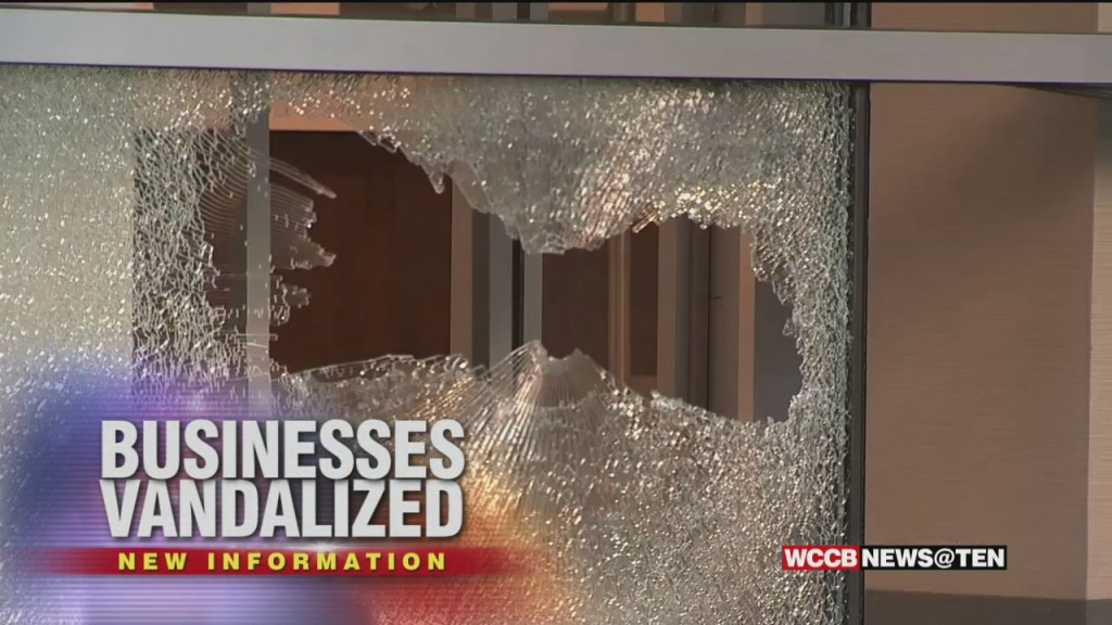 Cleanup Is Underway After People Vandalized Dozens Of Buildings And Businesses In Uptown Over The Weekend
