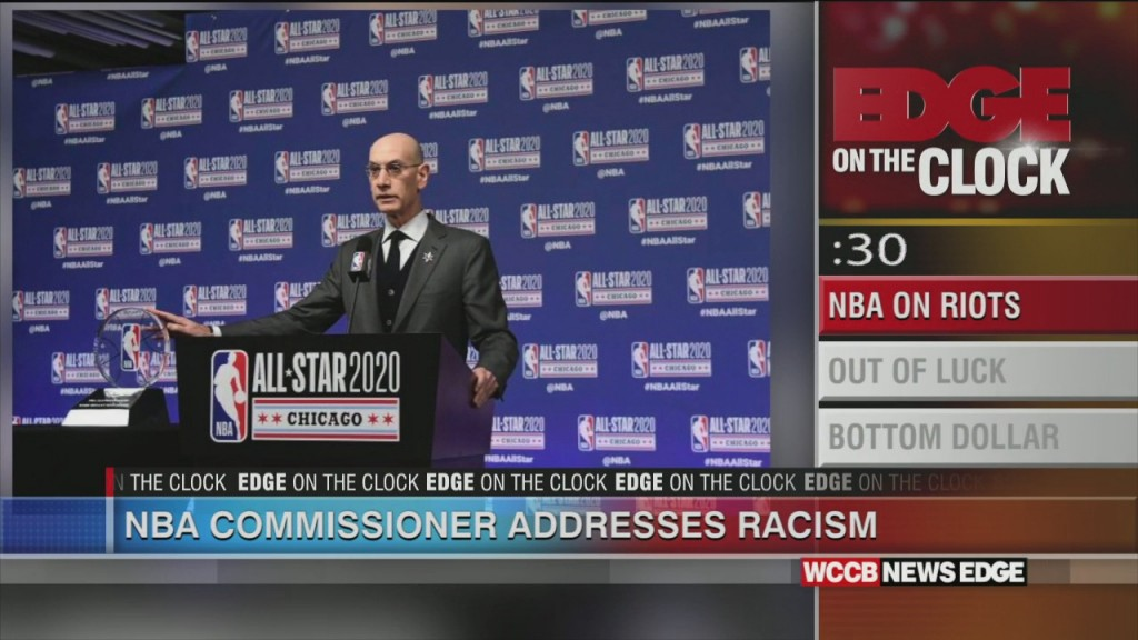 Nba Commissioner Speaks Out