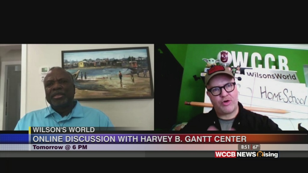 "Wilson's World: Previewing The Harvey B Gantt Center's Virtual Conversation ""unmasked: We Can't Breathe"" Streaming Live Wednesday On Youtube"