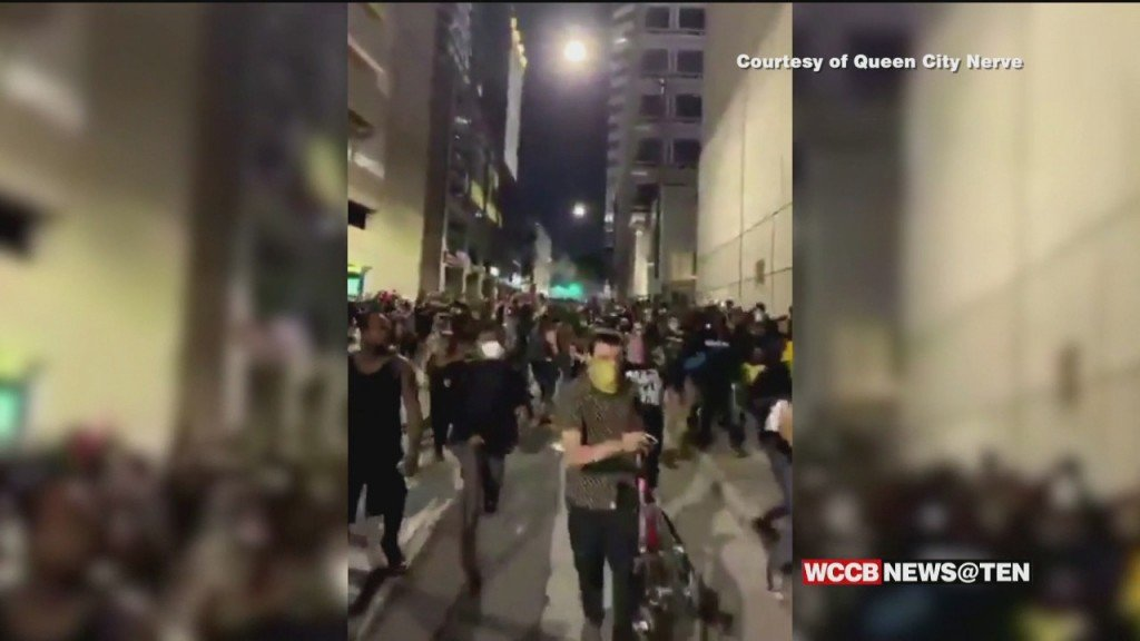 Backlash Against Cmpd After Protesters Boxed In And Attacked