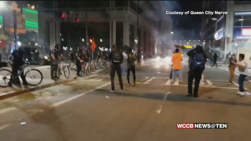 Elected Leaders React To Viral Video Of Charlotte Protesters Trapped And Gassed