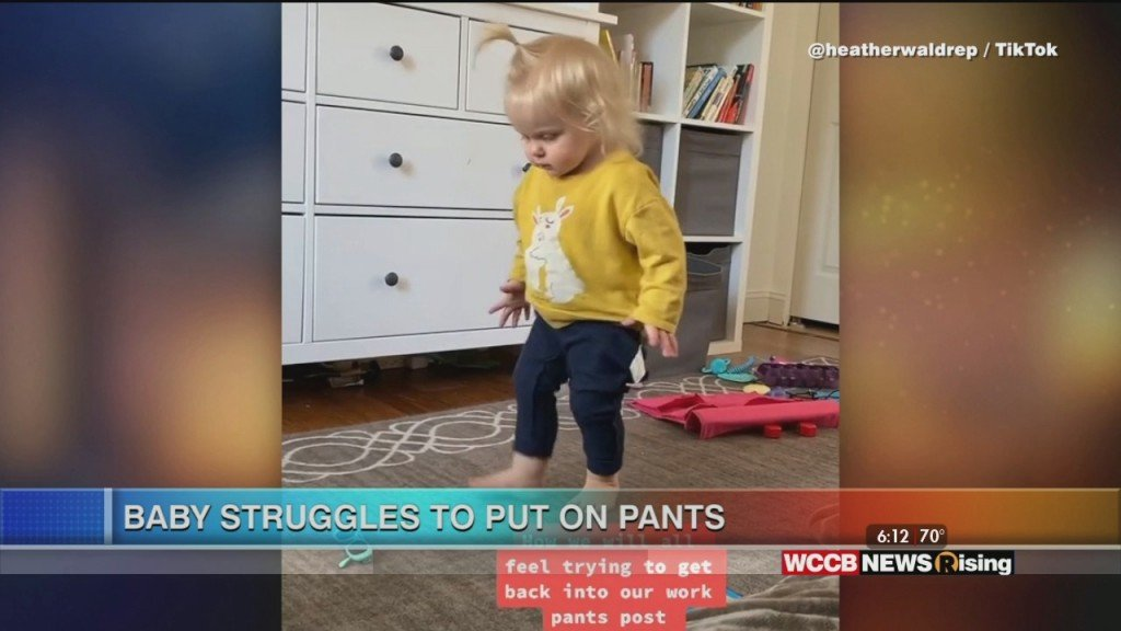 Viral Videos: Old Man Dances On Doorbell And Toddler Struggles To Put On Pants