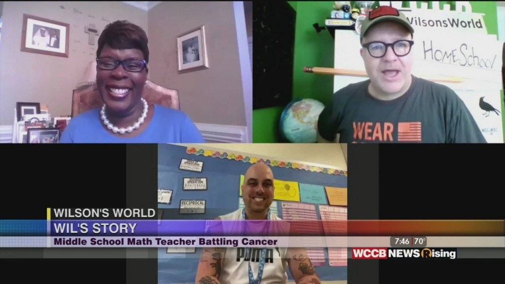 Wilson's World: Talking With Teacher Wil Loesel And Dr. Yolanda Holmes About The Cms And American Cancer Society Partnership