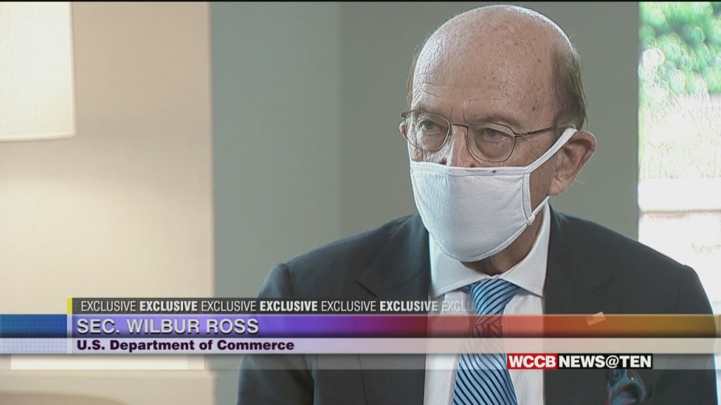 U.s. Secretary Of Commerce Wilbur Ross Speaks Exclusively To Wcct About Economy & Civil Unrest