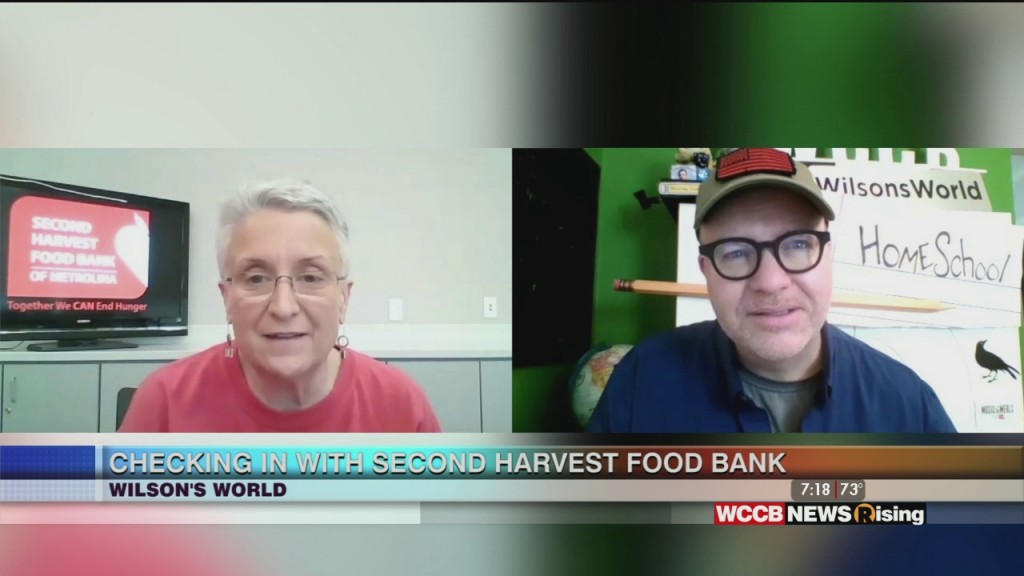 Wilson's World: Checking In With Second Harvest Food Bank After The Wccb Music For Meals Virtual Event
