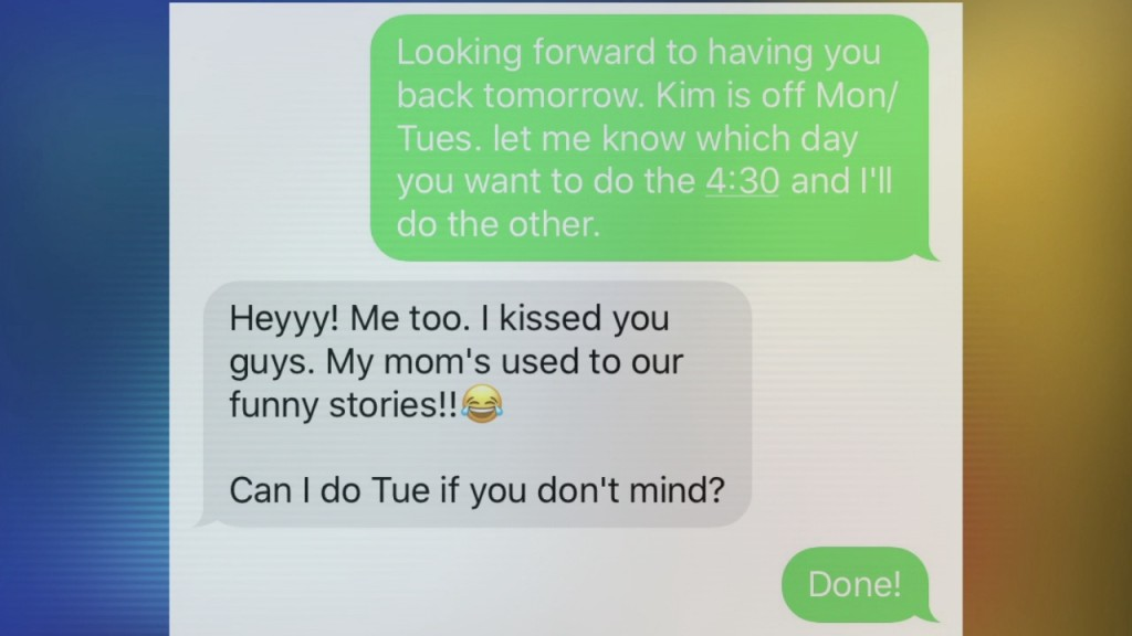 Laresa's Text Mishap Exposed