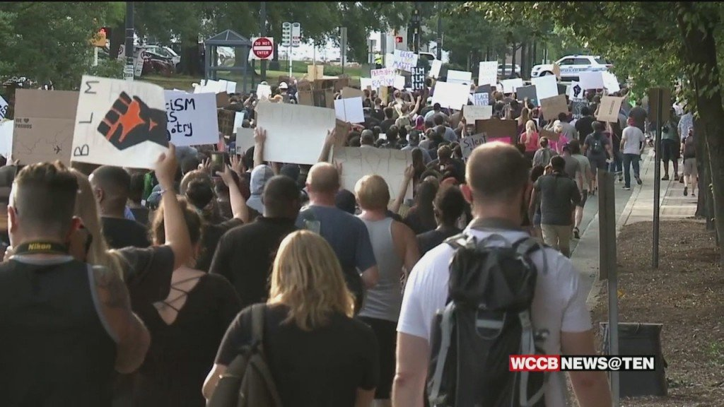 More Protests & Marches Held Across Uptown Charlotte