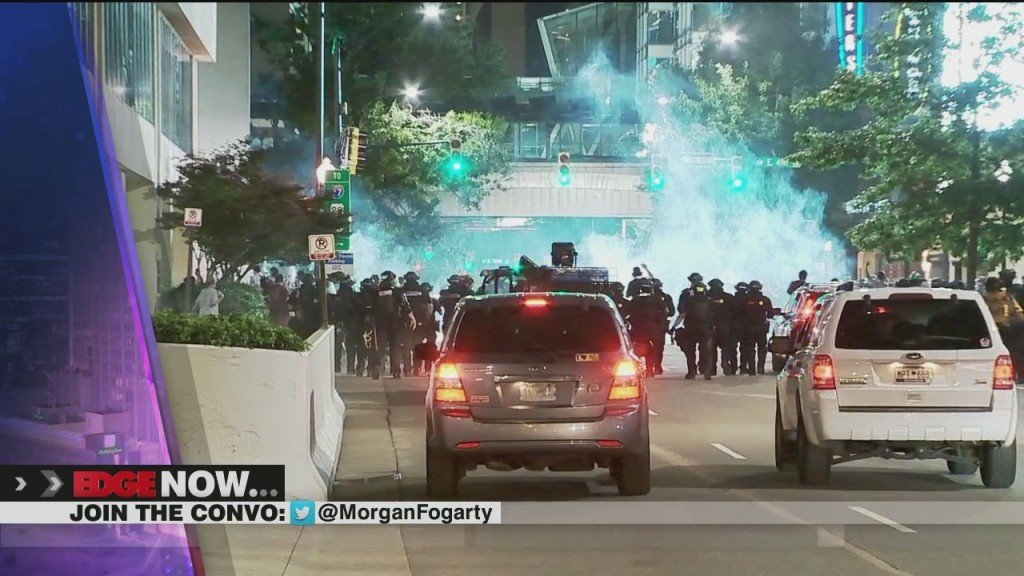 11th Night Of Protests In Charlotte