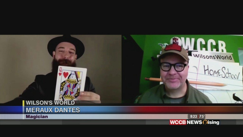 Wilson's World: Magician Meraux Dantes Brings A Little Magic And Fun To Our Morning