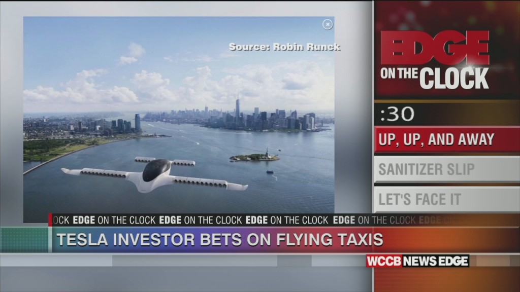 Flying Taxis Heading Your Way?