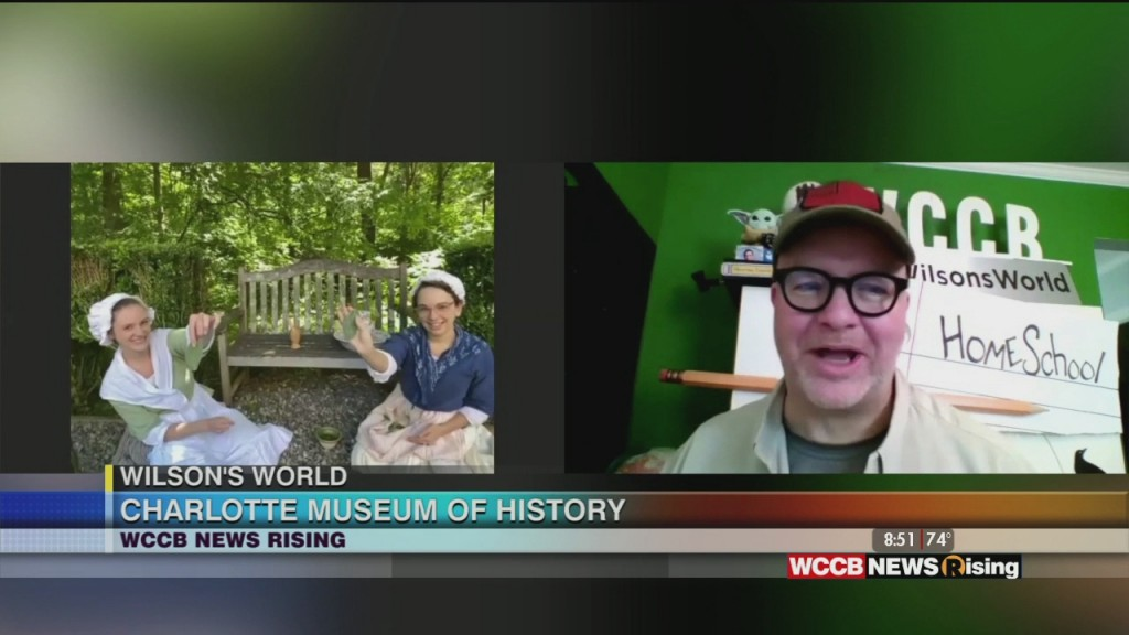 Wilson's World: Time Traveling Back To Colonial Life With The Charlotte Museum Of History