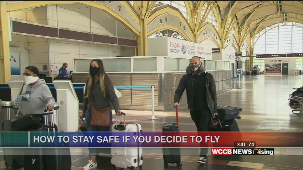 Healthy Headlines: How To Stay Safe If You Decide To Fly