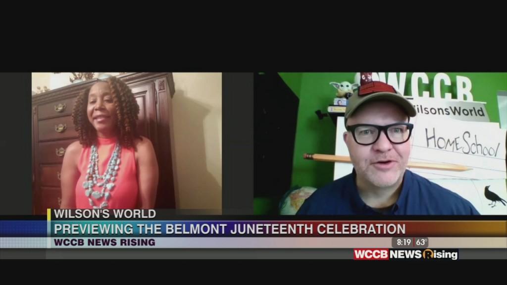Wilson's World: Previewing Belmont's Virtual Juneteenth Celebration