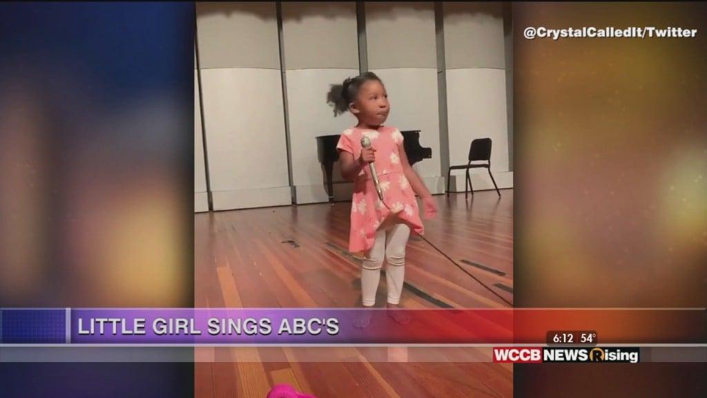Viral Videos: Dancing Toddler & Little Girl Sings Abc's