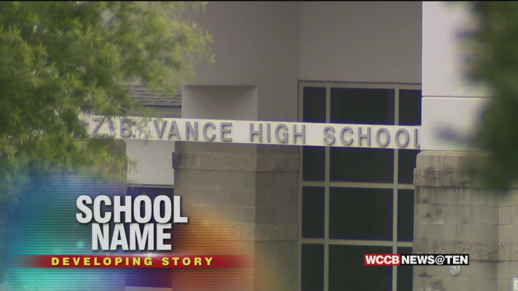 Vance High School To Be Renamed